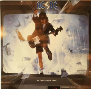 AC/DC - Blow Up Your Video (LP) (VG/VG-)